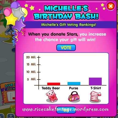 Fantage happy birthday michelle party 2012 ricecake your source for fantage help - Ontspannende leunstoel microvezel ...